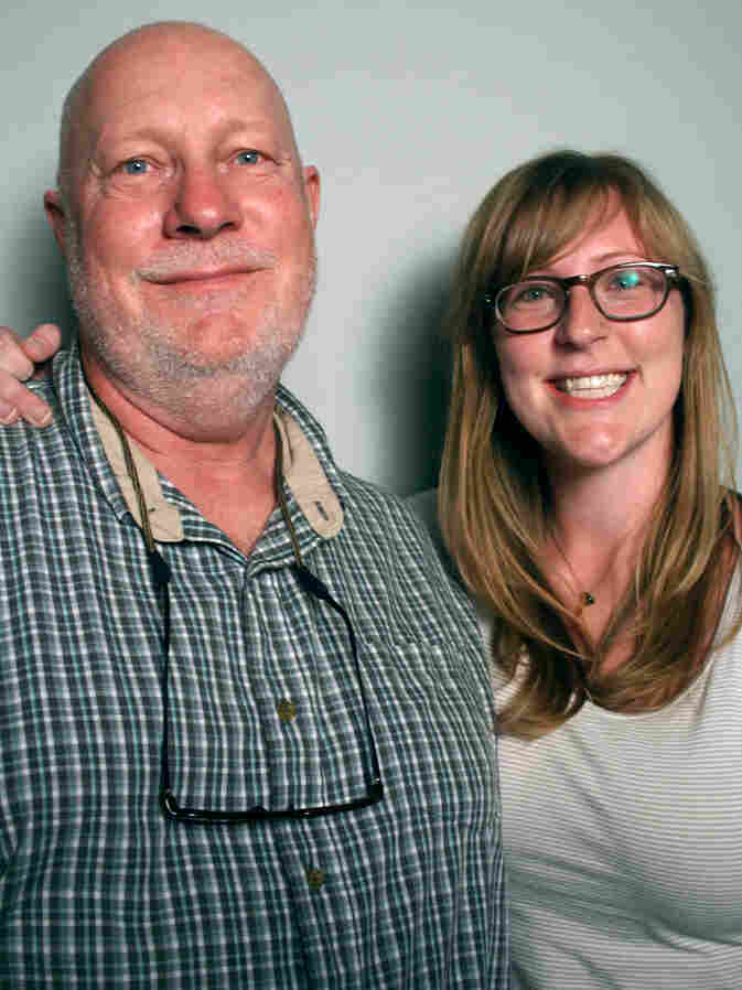 Mark Edens told his daughter Jessie about one night early in his career when he had to tell a woman her husband had died in a car accident. Edens was a police officer for 25 years. He told his story at StoryCorps in Atlanta.