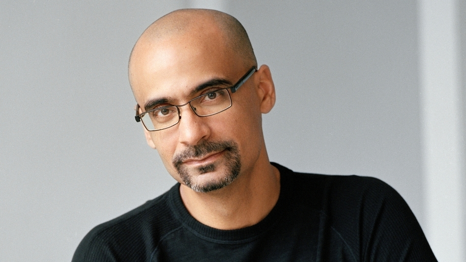 Junot Diaz's new book is titled This Is How You Lose Her.  (Courtesy of the artist)