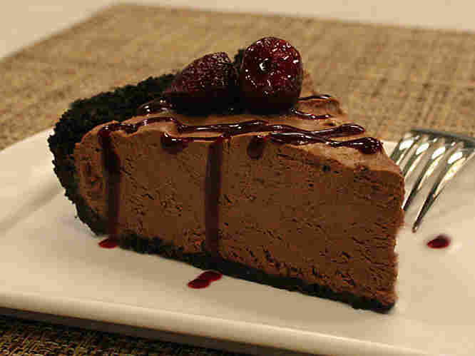 Chocolate Velvet Cream Pie