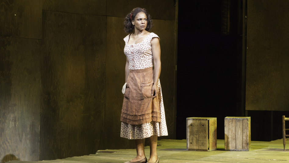 Audra McDonald plays Bess in the current Broadway production of Porgy and Bess. (Courtesy of the American Repertory Theater)
