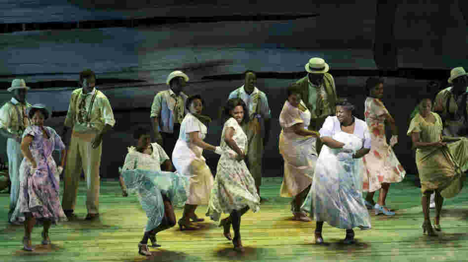 The women of Porgy and Bess dance.