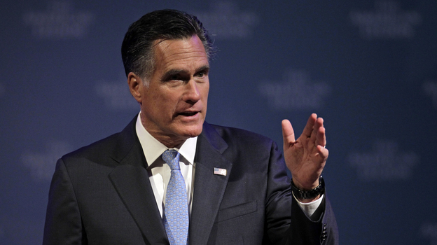 """Analysts say one of Mitt Romney's goals in tonight's speech as he accepts the GOP presidential nomination is to """"establish some connection"""" with Americans who are struggling. (AP)"""