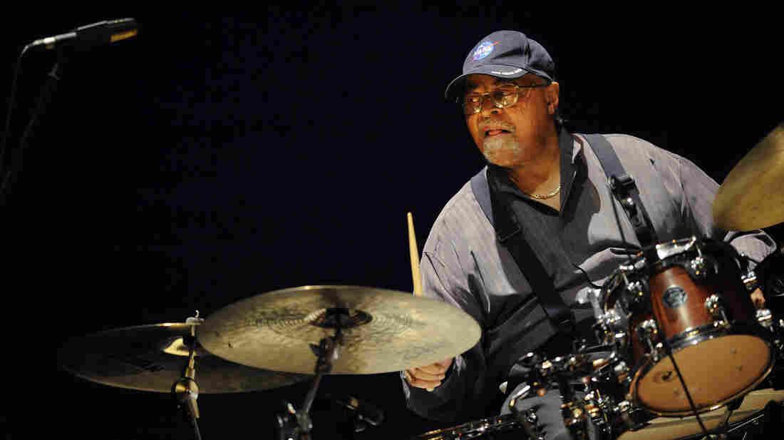 Drummer Jimmy Cobb plays at the 2012 Heineken Jazzaldia, the international jazz festival in San Sebastian, Spain.