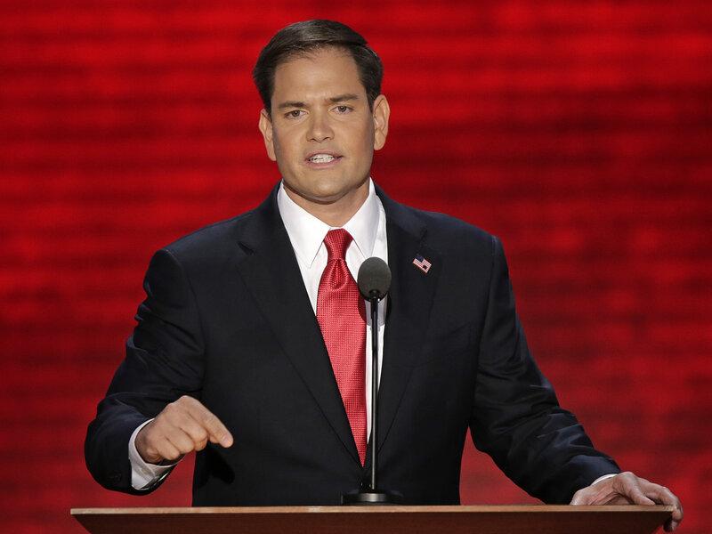 Transcript: Florida Sen  Marco Rubio's Convention Speech : NPR