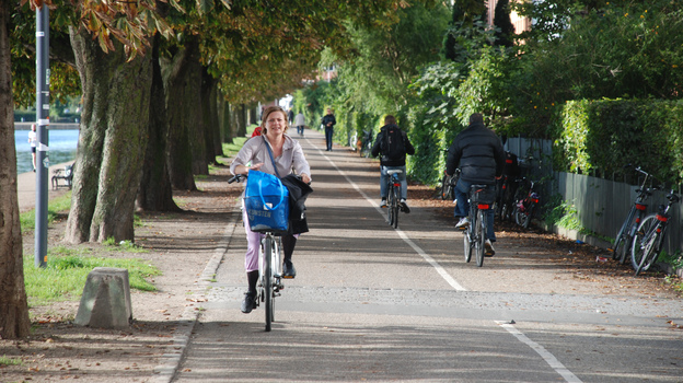 Many Copenhagen residents already travel by bike, and now the city is building high-speed routes designed to encourage commuters even in the outlying suburbs. (AFP/Getty Images)