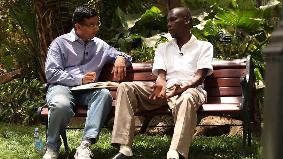 Commentator and writer Dinesh D'Souza, who directed the documentary 2016: Obama's America, interviews George Obama, the president's half-brother.