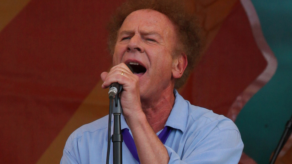 Art Garfunkel performs at the New Orleans Jazz and Heritage Festival in 2010. (WireImage)