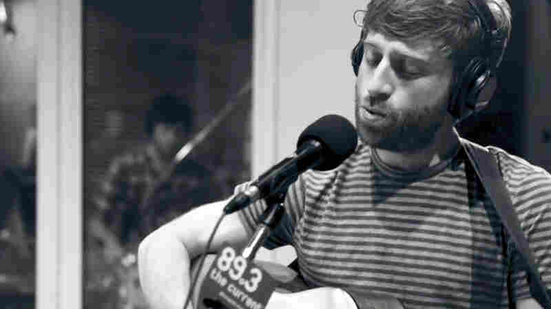 Hucky performs in The Current's studios.