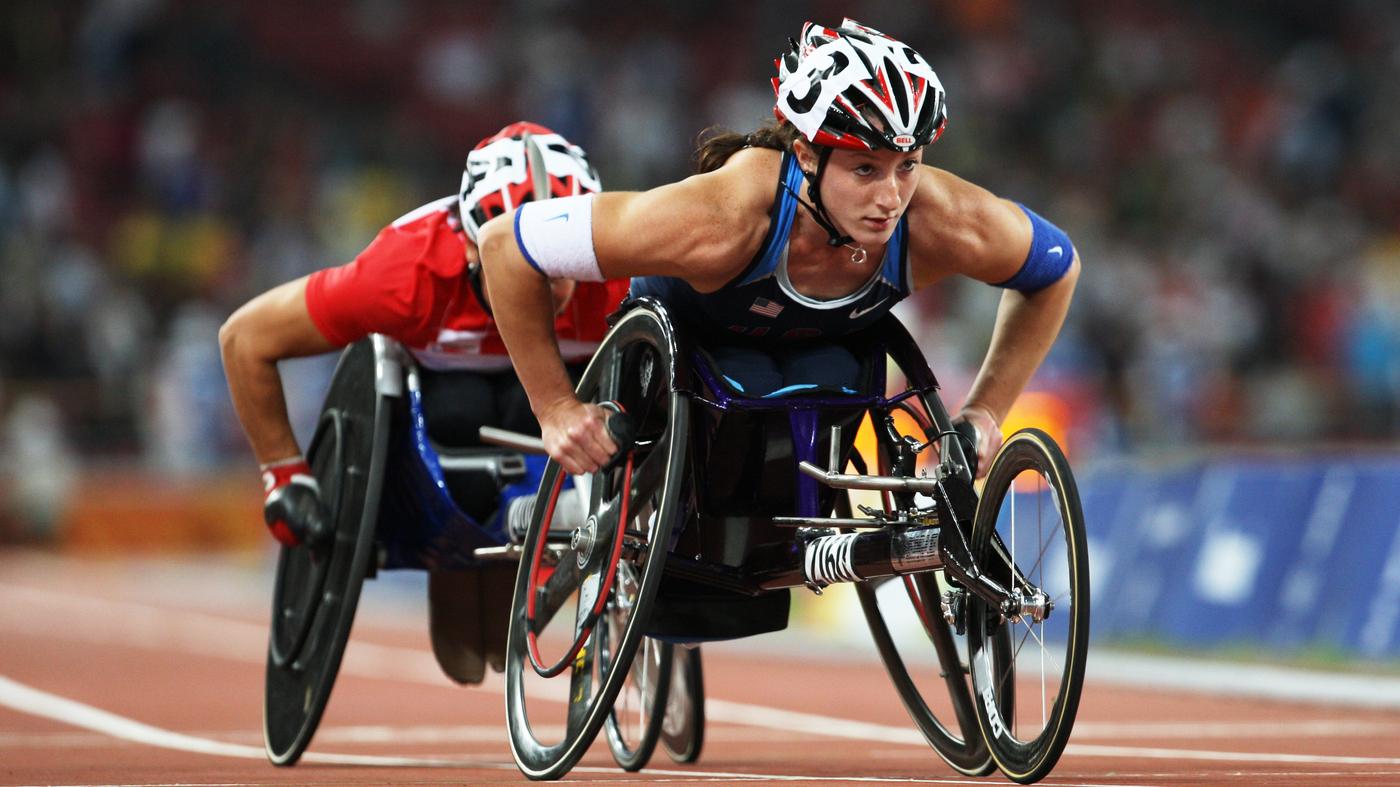 paralympians pursuit enables aspiring athletes npr