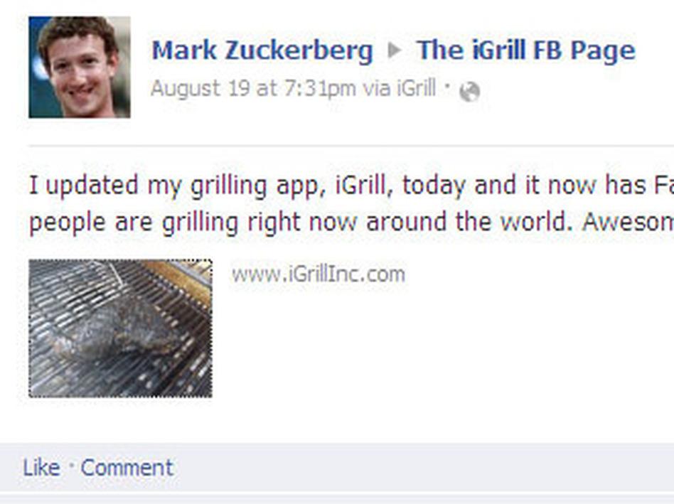 (Screen shot from Facebook)