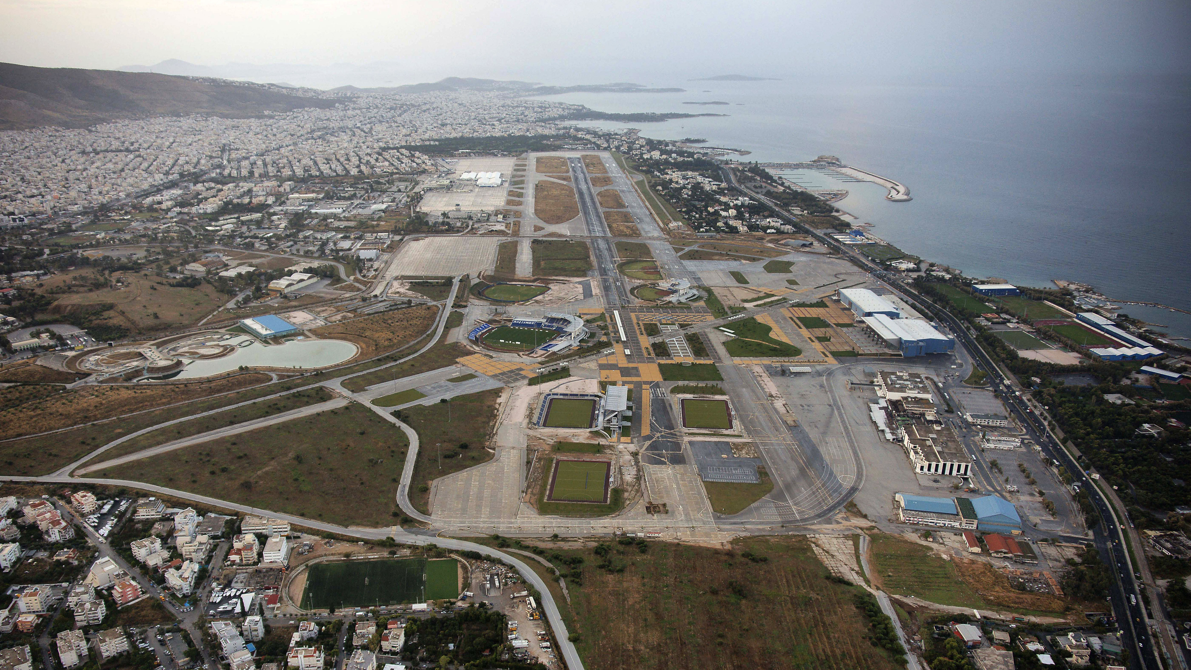 Athens Airport's Makeover Attempts to Take Off - WSJ