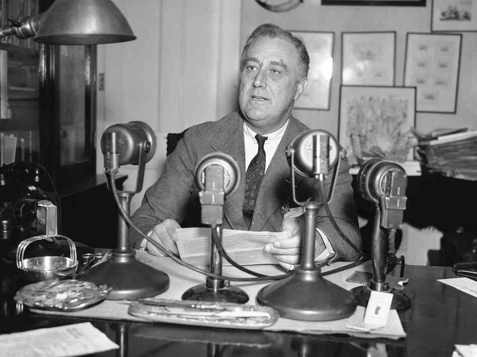 In 1936, President Franklin D. Roosevelt was making the case that government was a necessary and positive part of American life. Contemporary Democrats are