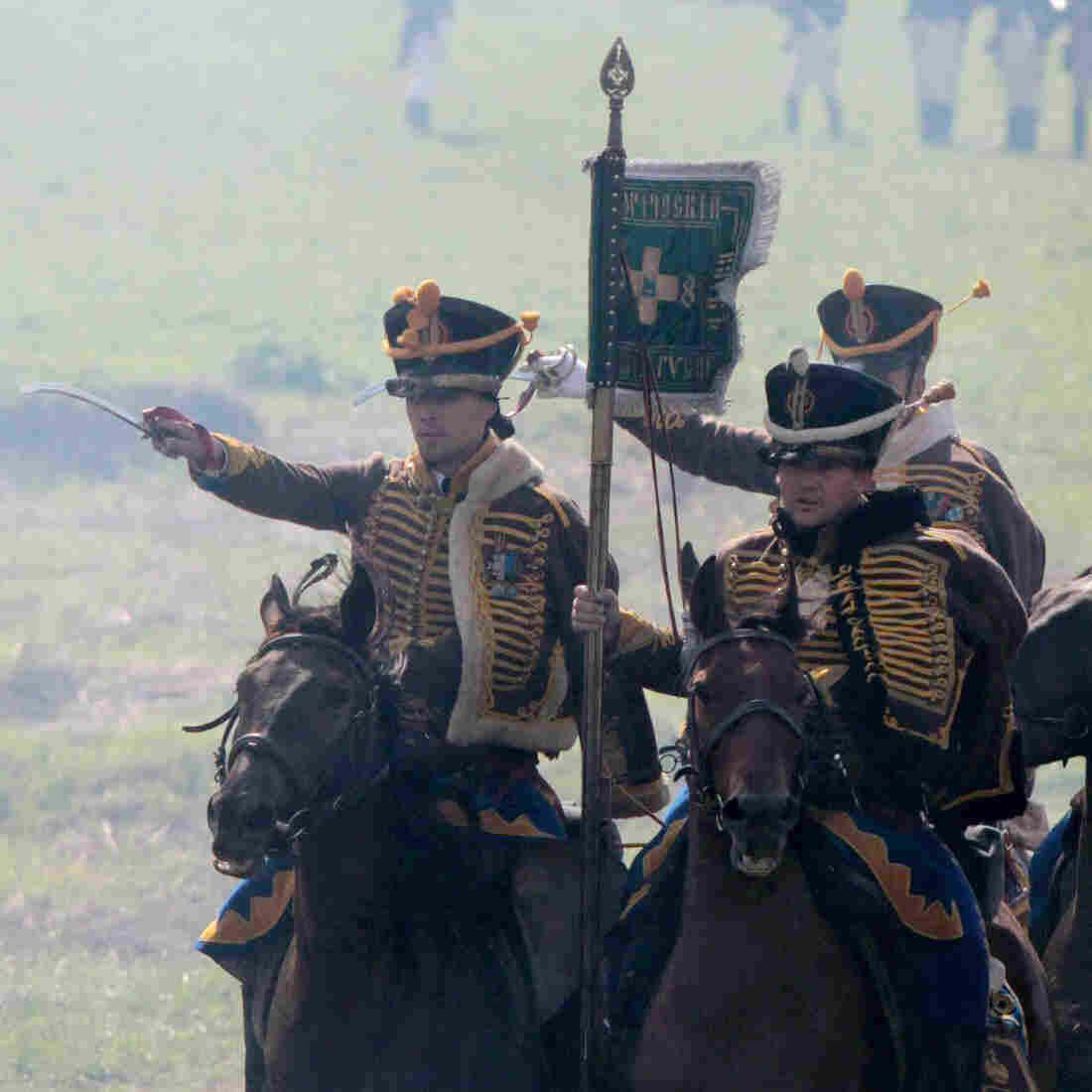 In Russia, 200-Year-Old Battle A Day To Remember