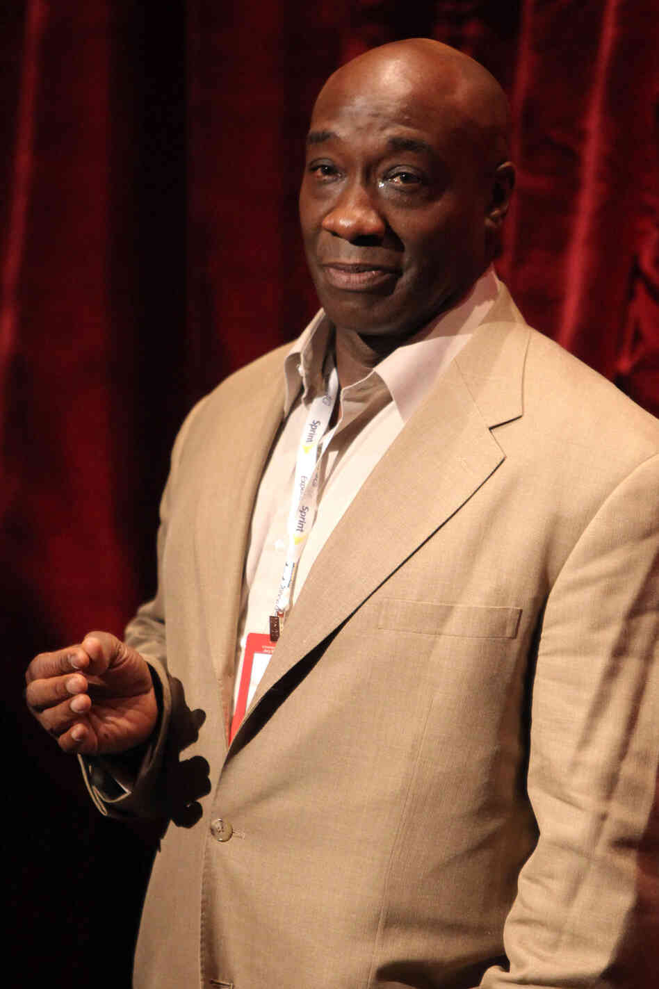 Michael Clarke Duncan, seen here in 2010, has died at age 54 in a Los Angeles hospital. The actor appeared in more than 70 films, including blockbusters such as Armageddon and Kung Fu Panda.