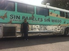 Maria Cruz Ramírez, 46, rode on the Undo-bus for six weeks.