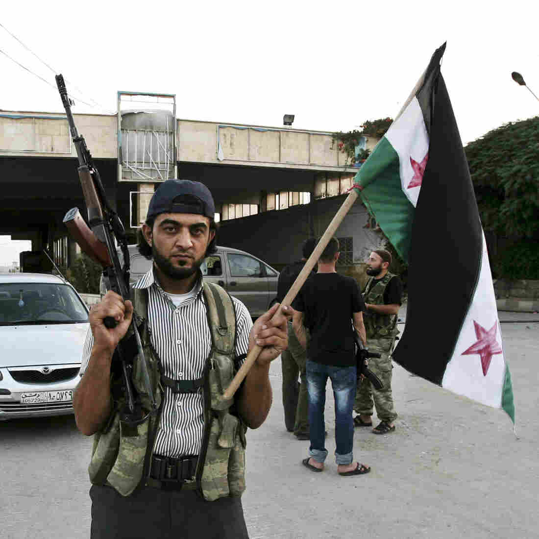 Syrian Rebel Leader Keeps Order On The Border