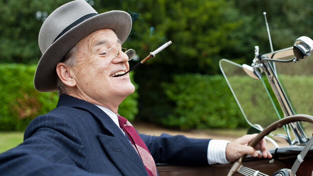 Why yes, that is Bill Murray playing FDR in Hyde Park On Hudson, one of many films that will be playing at the Toronto International Film Festival, beginning Thursday.