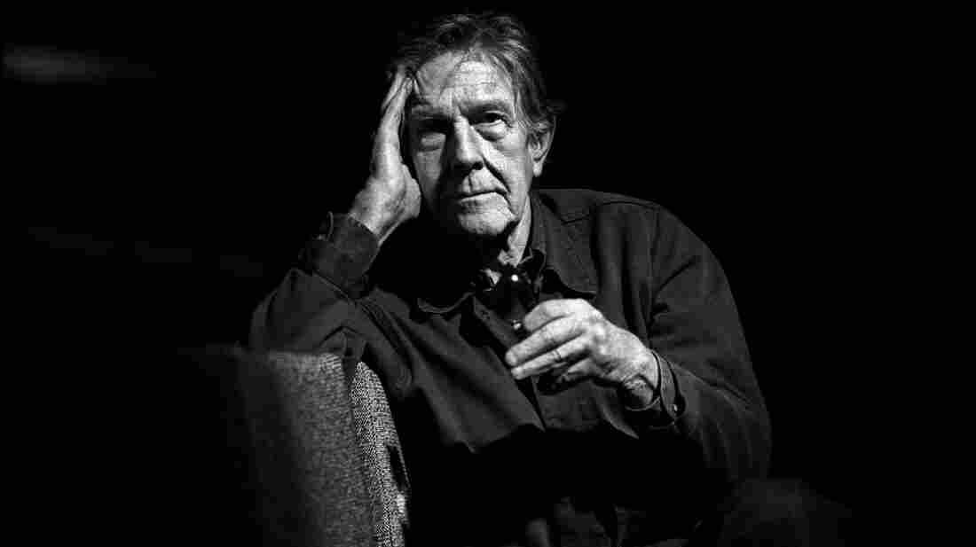 John Cage in The Hague, Netherlands, 1988