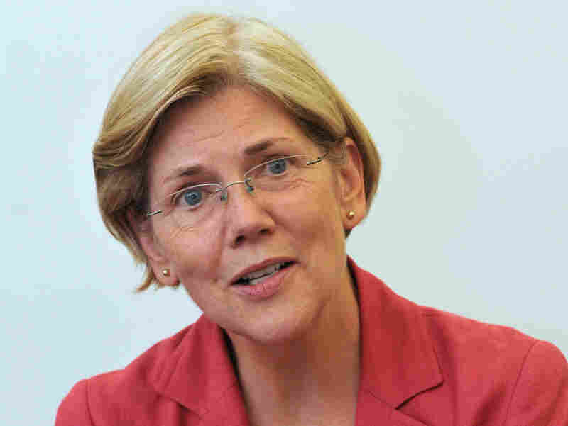 Massachusetts Senate candidate Elizabeth Warren