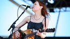 Gillian Welch performs at the 2011 Newport Folk Festival. Welch is up for two major awards at the 2012 Americana Music Festival.