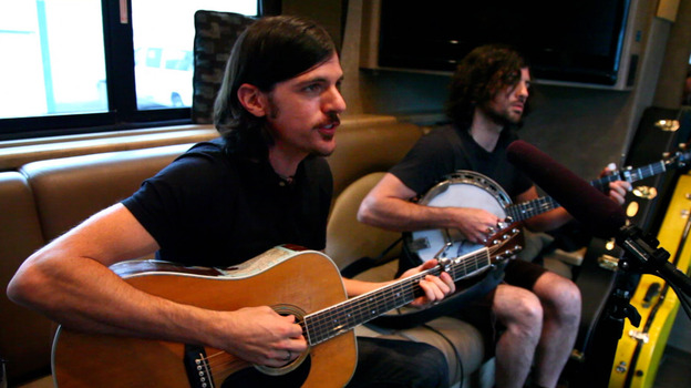 The Avett Brothers Field Recordings video shoot (NPR)