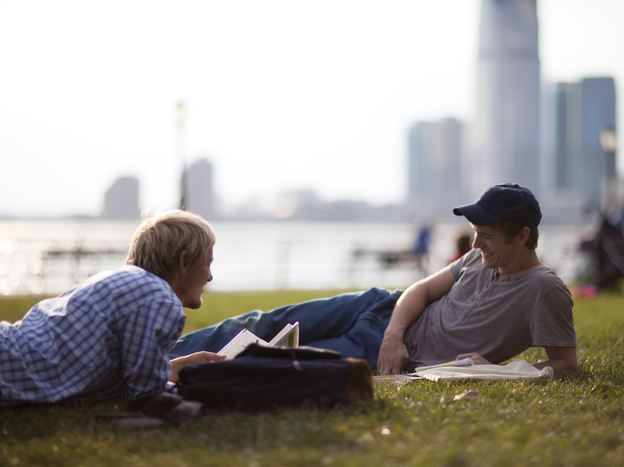 Erik (Thure Lindhardt) and Paul (Zachary Booth) meet through a phone hookup service, but end up moving in together and pursuing a passionate, long-term relationship.