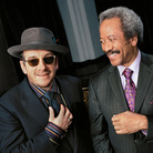 Elvis Costello (left) and Allen Toussaint.