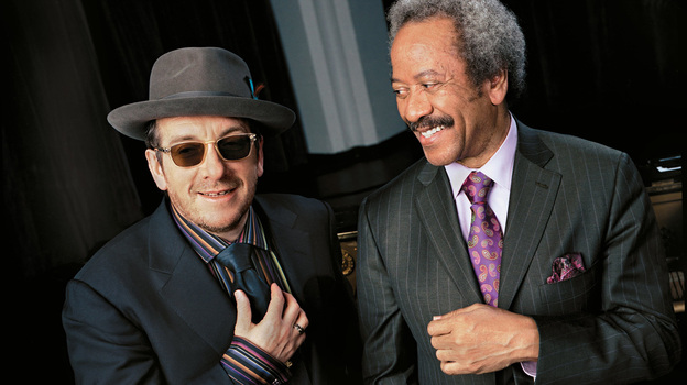 Elvis Costello (left) and Allen Toussaint. (Jimmy Katz)