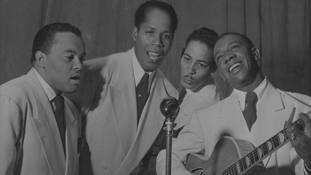 Vocal groups like The Ink Spots went on for decades, often without a single member of the original group appearing with them. (Getty Images)