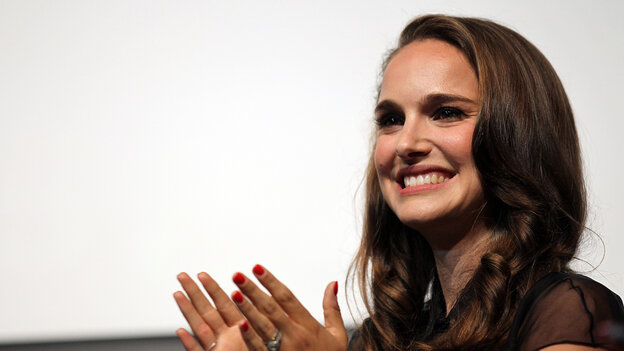 Actress Natalie Portman is scheduled to speak Thursday at the Democratic National Convention.