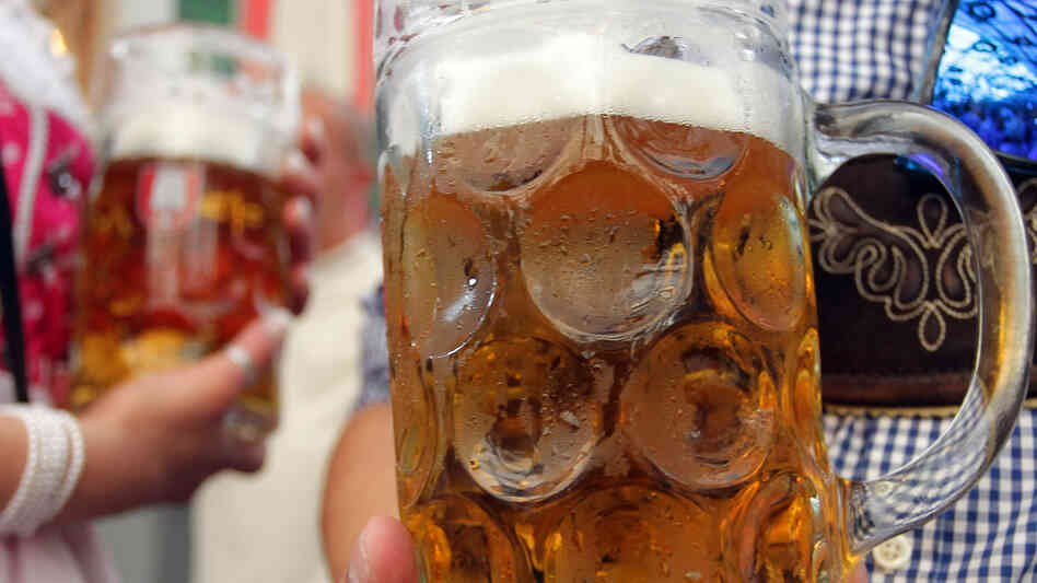 Ahead of Oktoberfest, Munich's brewers say they're running short of bottles and kegs for the fe