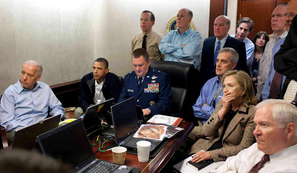 President Obama and other members of his national security team monitored the mission that ended with the death of Osama bin Laden in May 2011.