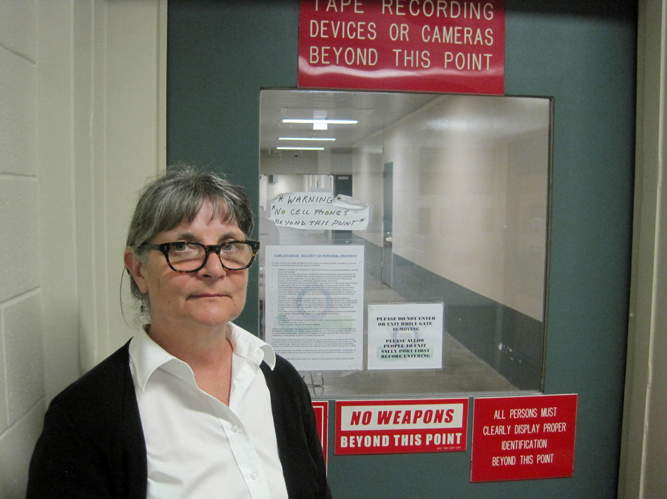 Francesa Anello with the Los Angeles County Mental Health Department heads up mental health services for prisoners at the county jail. She's responsible for reintegrating released prisoners with mental illness back into the community.