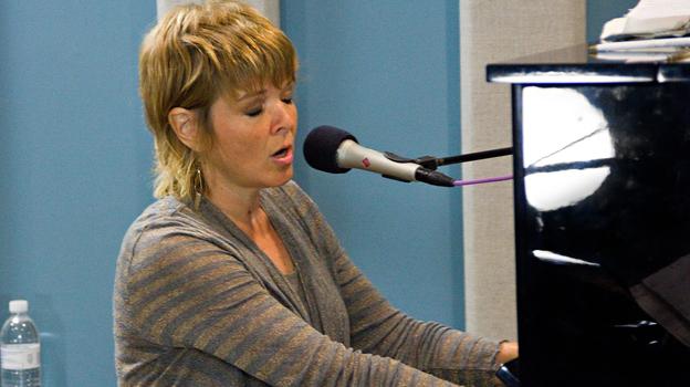 Jazz singer Karrin Allyson on KPLU in Seattle. (Jazz24)