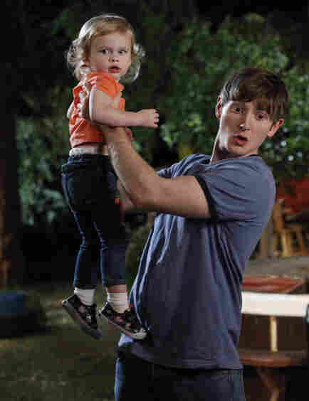 The FOX show Raising Hope follows young father Jimmy Chance (Lucas Neff) who conceived his daughter Hope (Baylie/Rylie Cruget) in a one-night stand. The show has worked with The National Campaign to Prevent Teen and Unplanned Pregnancy to write messages about safe sex into the script.