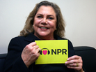 Kathleen Turner loves NPR