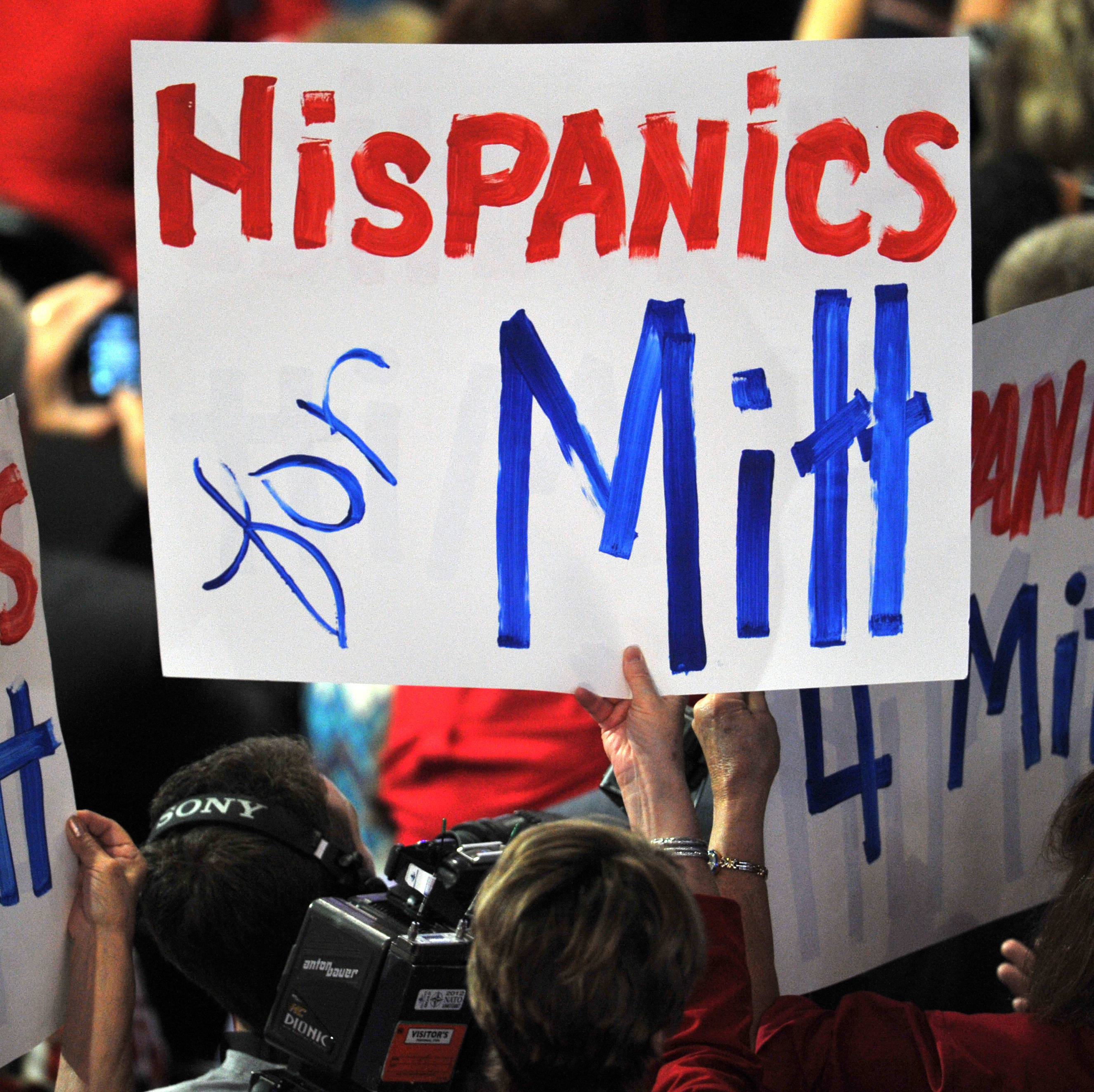 Signs at the Republican National Convention in Tampa, Fla., on Aug. 30.
