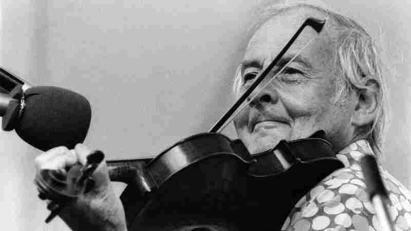 French jazz violinist Stephane Grappelli.