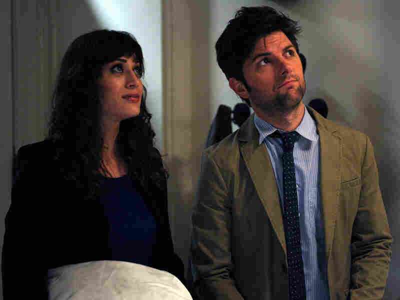 Gena is torn up about re-encountering her high-school love, Clyde (Adam Scott, Caplan's Party Down co-star).