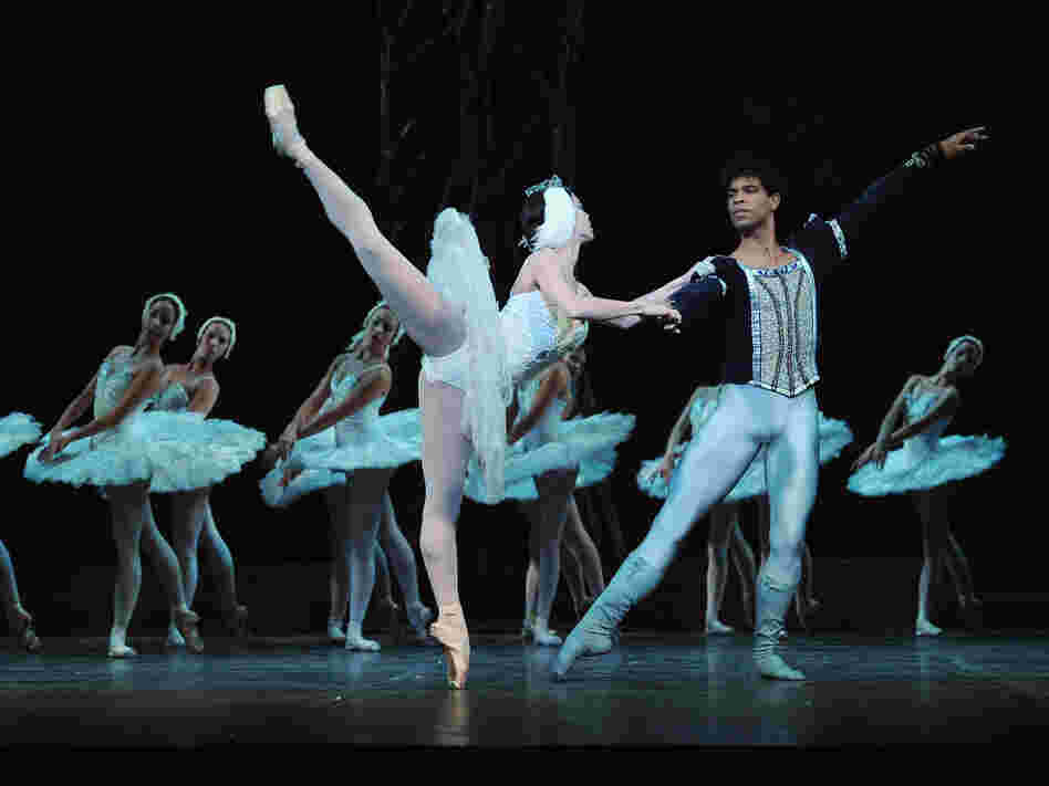 Costa left Cuba and gained fame dancing with London's Royal Ballet. Here, he is shown with Viengsay Valdes during a photo call for Swan Lake performed by the Ballet Nacional De Cuba at the Coliseum in London, on March 30, 2010.