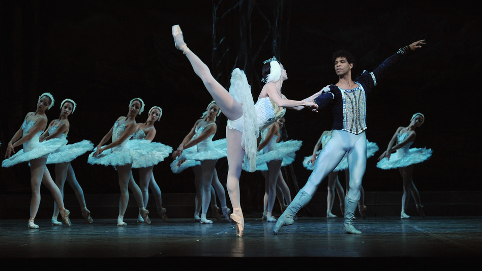 Costa left Cuba and gained fame dancing with London's Royal Ballet. Here, he is shown with Viengsay Valdes during a photo call for Swan Lake performed by the Ballet Nacional De Cuba at the Coliseum in London, on March 30, 2010. (Getty Images)