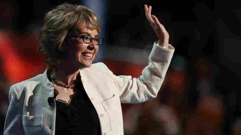 In Case You Missed It: Video Of Gabrielle Giffords Leading The Pledge