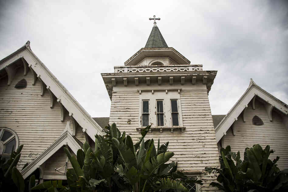 The chapel on campus is abandoned and deteriorating. The 1900s-era building is a rare early-American, multidenominational site. It holds one chapel for Protestants and another for Catholics. The J. Paul Getty Museum provided a $75,000 grant in 2000 to support conservation planning, but no work has yet been done on the building.