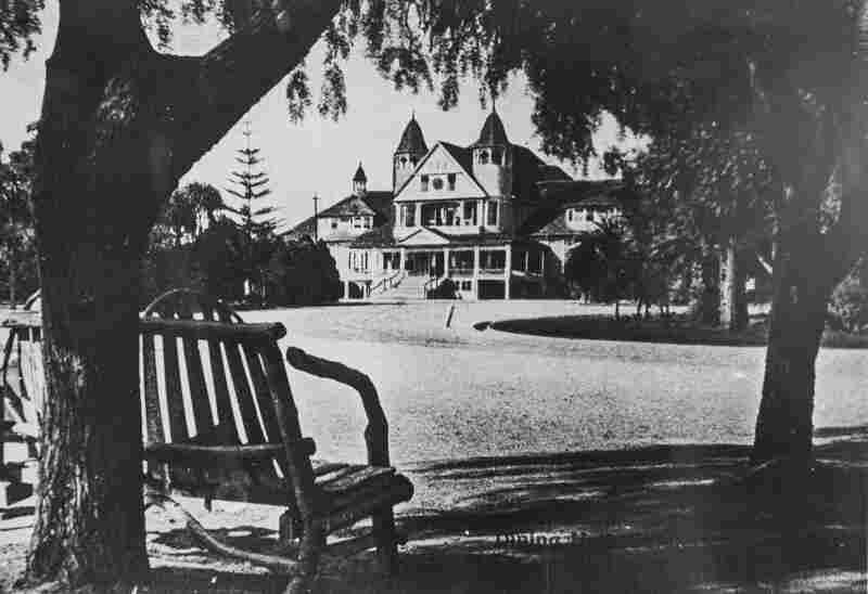 The dining hall, circa 1900.