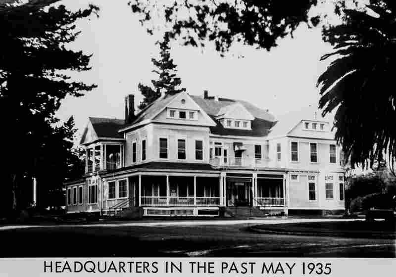 Campus headquarters, 1935.