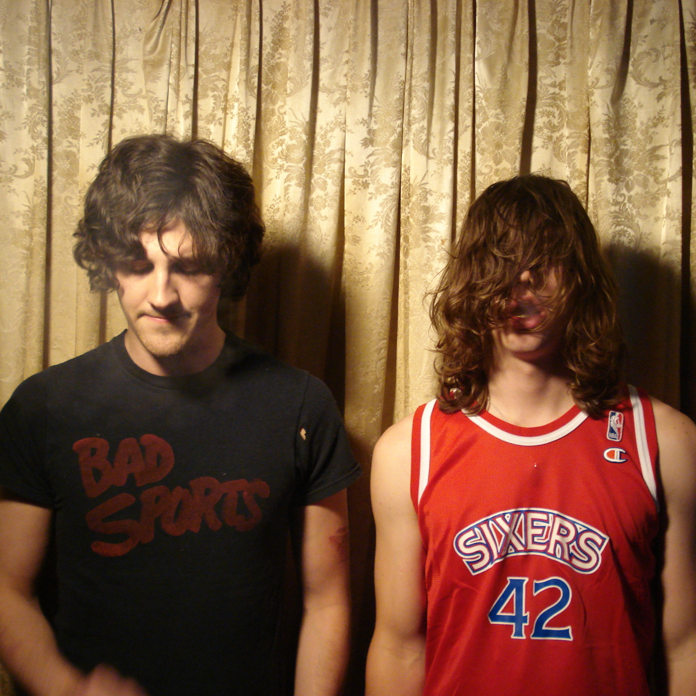 The members of the band Bass Drum of Death, drummer Colin Sneed (left) and singer-guitarist John Barrett, live in their hometown of Oxford, Miss. --�� a city of around 19,000 people.