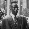 Yusef Salaam is escorted by police.