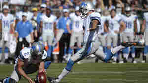 At 42, Detroit Lions Kicker Earns Admiration