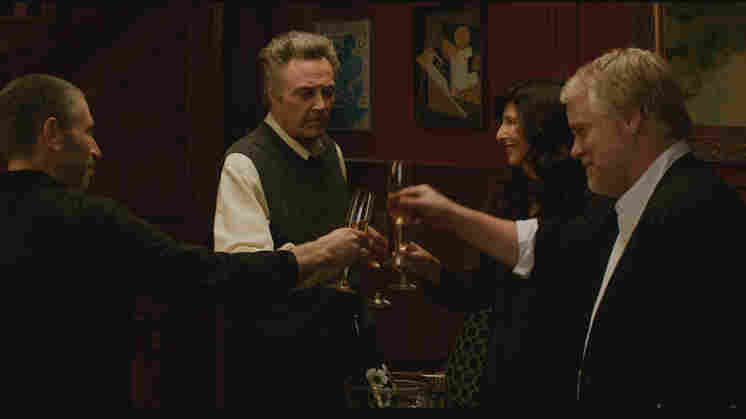 Mark Ivanir, Christopher Walken, Catherine Keener and Philip Seymour Hoffman star in A Late Quartet.