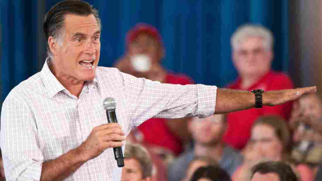 For more than three decades, presidential candidates have talked tough about China during the campaign season, but opted for more moderate policies as president. Republican nominee Mitt Romney, shown speaking in Colorado in July, accuses China of manipulating its currency in order to export its goods cheaply to the US.